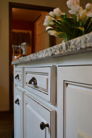 white cabinets - Zionsville, Indiana - Maguire