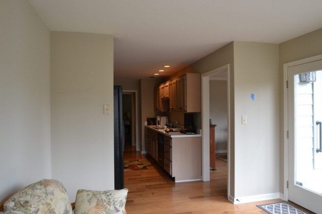 before and after kitchen renovation - Indianapolis, IN - Radliff