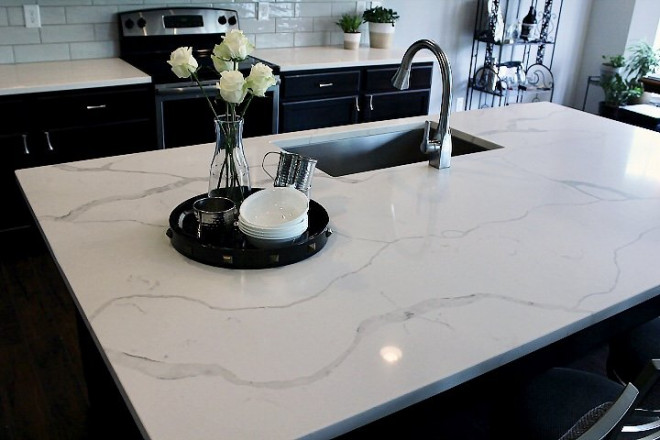 white kitchen countertops - Zionsville, Indiana - Rogers