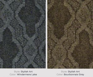 Shaw Patterned Carpet Stylish Art