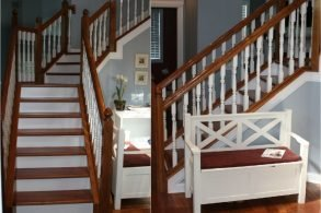 Transform Your Stairs with StareCasing™ Hardwood Overlays
