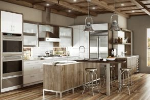 Frameless Cabinetry Provides Style and Storage Space