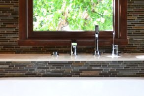 Keller Master & Hall Bathrooms, Bar Remodel Carmel