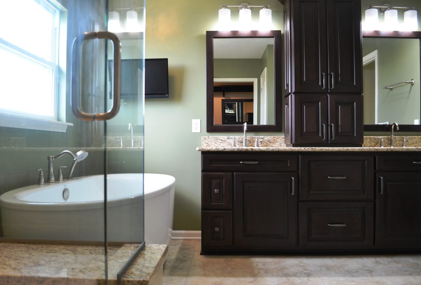 Sorge Bathroom And Closet Remodel Zionsville Aco