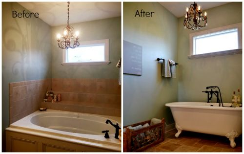 Juleen Bathroom Tub Before and After