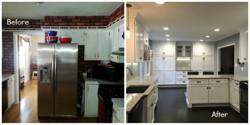Kitchen Makeover with Semi-Custom Cabinets - ACo