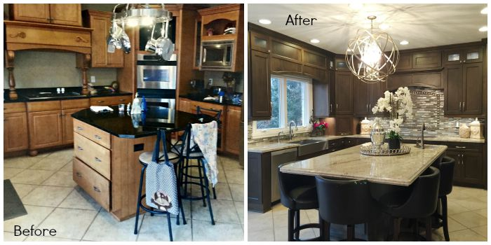 Kitchen Before & After - ACo