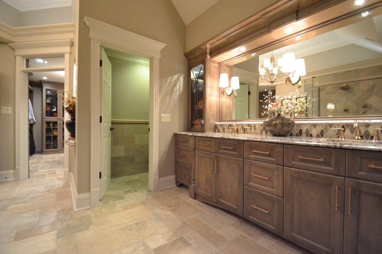 Hanson master bathroom remodel carmel aco for Bath remodel financing