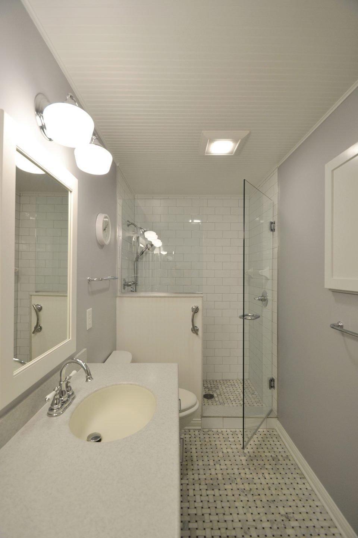 Brown Bathroom Remodel Indianapolis - ACo