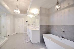 Basil Master Bathroom Remodel Carmel