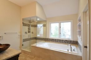 The James Master Bathroom Remodel Carmel