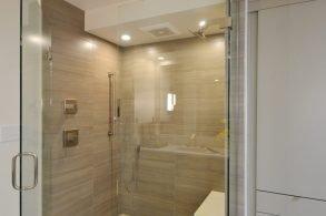 Mid-Century Modern Master Bathroom