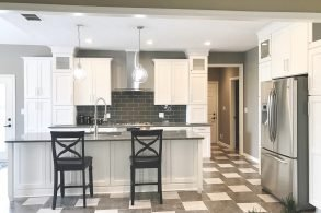 Simple, Symmetrical, & Sophisticated Kitchen Remodel
