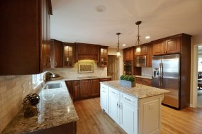 Tastefully Traditional Carmel Kitchen
