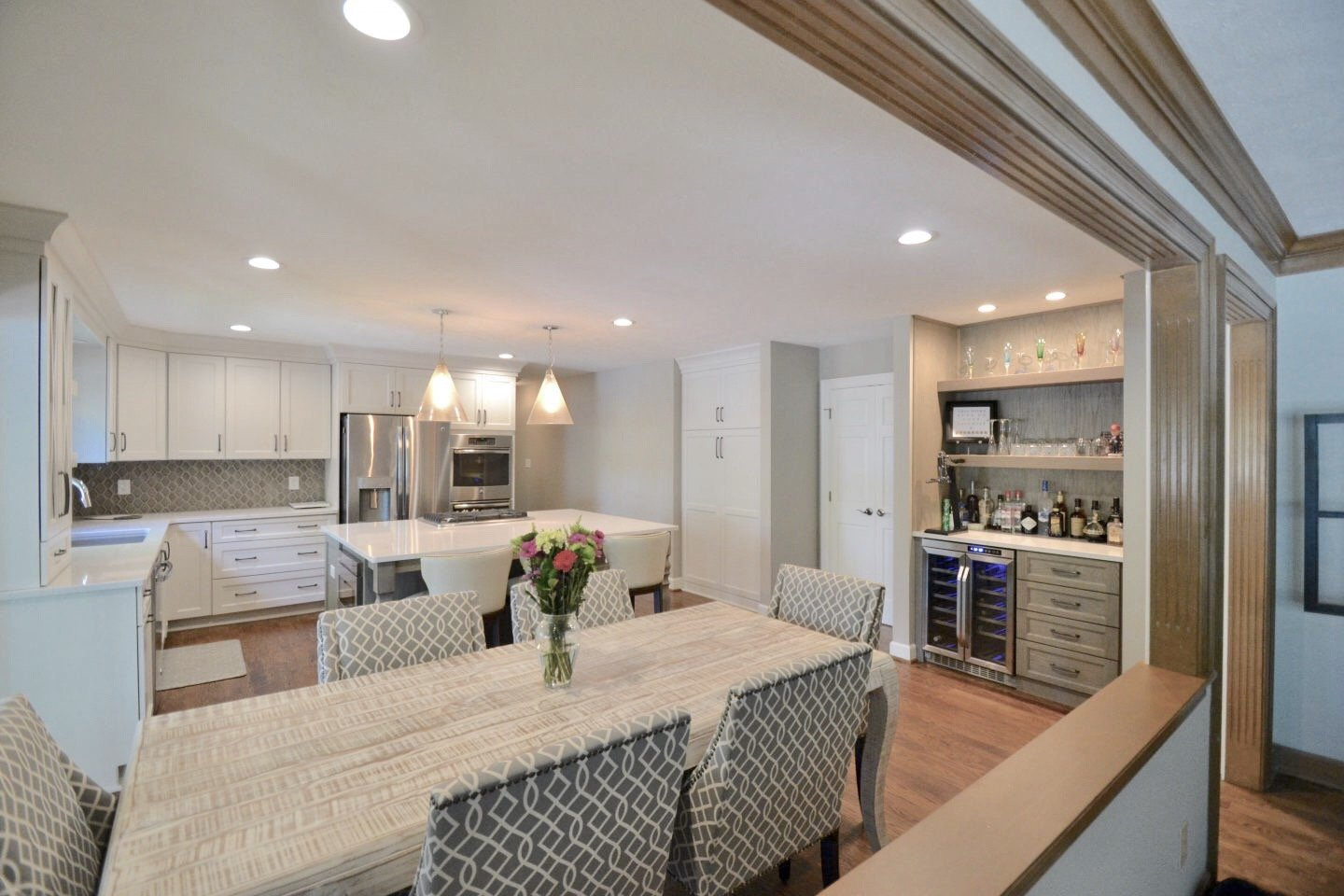 Mullins Kitchen Remodel (before and after photos) Carmel - ACo