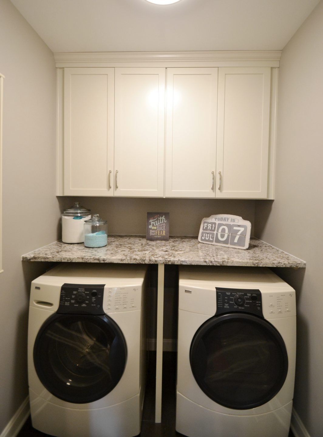 Beaton Kitchen Powder Bath Laundry Room Remodel Before After Photos Indianapolis