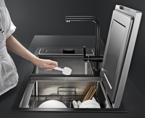 Fotile Sink Dishwasher - Ergonomic Design