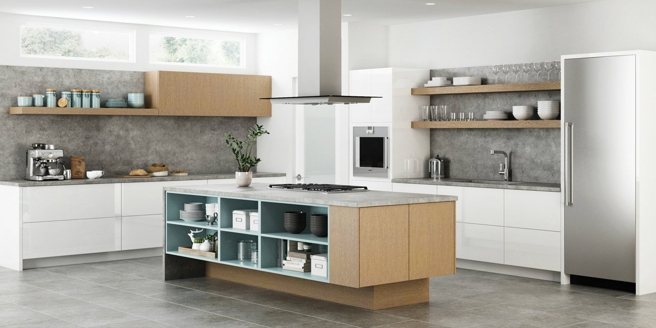 A Perfect Compromise With Semi Custom Cabinets Aco