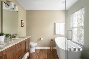 Rider Drive Master Bath & Basement Bath Remodel – Fishers, Indiana (Before & After Photos)