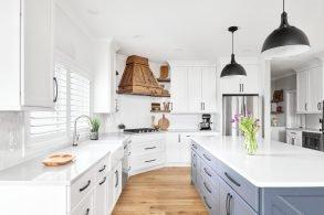 Beyond Basic White Cabinets to Something Spectacular